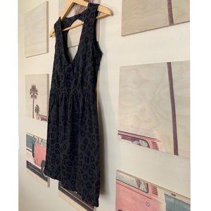 Stussy Black Future Cat print dress